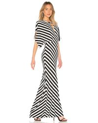 Norma Kamali - Rectangle Gown In Black & White - Lyst