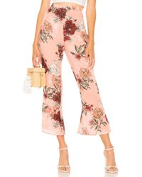 BB Dakota - Isabelle Pant In Pink - Lyst