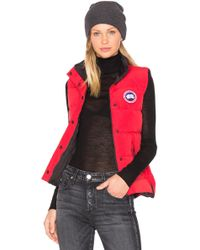 Canada Goose - Gilet Freestyle - Lyst