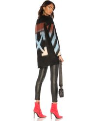 Off-White c/o Virgil Abloh - Diag Intarsia Mohair Sweater - Lyst