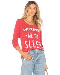 Chaser - Weekend Sleep Sweatshirt - Lyst
