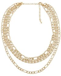Amber Lariat in Metallic Gold 8 Other Reasons Discount Newest Ebay For Sale Countdown Package Cheap Price DcXodRa7