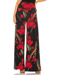 Norma Kamali - Elephant Pant In Red - Lyst