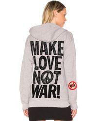 MadeWorn - Make Love Not War Hoodie - Lyst