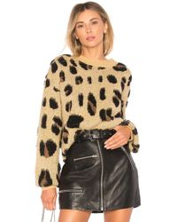 House of Harlow 1960 - X Revolve Lawrence Sweater In Brown - Lyst