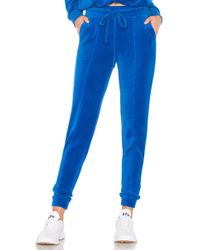 Year Of Ours - Velour Jogger Pant In Royal - Lyst