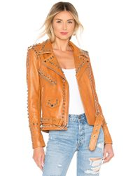 ee7a3aacdd7 Urban Outfitters - Western Dome Easy Rider Jacket - Lyst