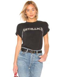Daydreamer - X Revolve Metallica Studded Tee - Lyst