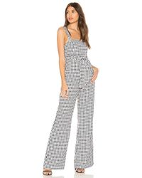Likely - Dahlia Jumpsuit In Black & White - Lyst