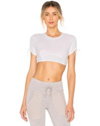 Free People - Movement Shake It Up Crop Top In White - Lyst