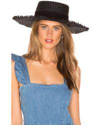 L*Space - L* Jenny Hat In Black. - Lyst