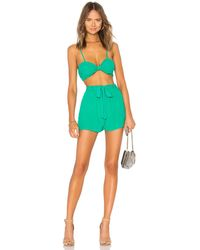 superdown Charlee Short Set - Green