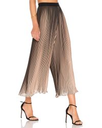 Kendall + Kylie - Pleated Pant - Lyst