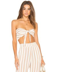 Beach Riot - Avery Top In White - Lyst