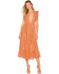 MAJORELLE - Mistwood Dress - Lyst