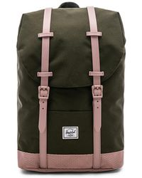 Herschel Supply Co. - Retreat Mid Volume Backpack In Army. - Lyst