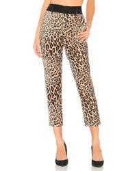 FRAME - Cheetah Tux Pant - Lyst