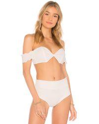 Montce Swim - High Rise Bikini Bottom - Lyst