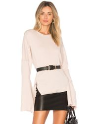Tibi - Tie Sleeve Sweater - Lyst