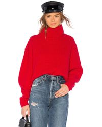 Lovers + Friends - Quin Jumper In Red - Lyst