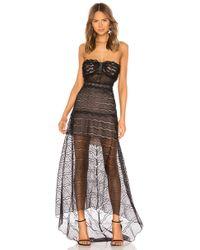 Alexis - Ashta Dress In Black - Lyst