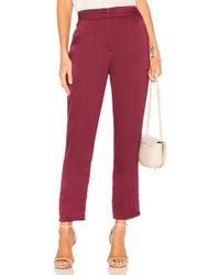Krisa - Smocked Back Trouser Pant - Lyst
