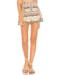 Camilla - Side Flounce Shorts - Lyst
