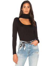 1.STATE | Scoop Front Turtleneck Jumper | Lyst