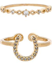 8 Other Reasons - Bells Ring Set In Metallic Gold. - Lyst