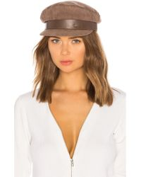 Don - Suede Sailor Cap - Lyst
