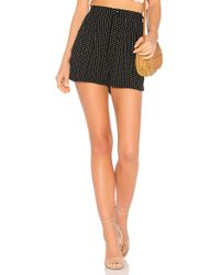 Free People - Magdalene Pleated Short - Lyst