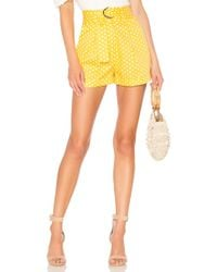 Tularosa - Olena Skort In Yellow - Lyst