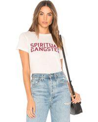 Spiritual Gangster - Sg Varsity Rec Tee - Lyst