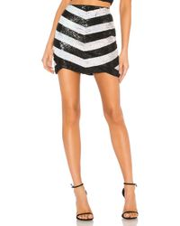 X By NBD - Stacy Embellished Mini Skirt - Lyst