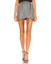 Alice + Olivia - Lennon Side Zip Mini Skirt - Lyst