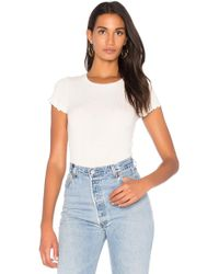 Project Social T - Lainey Rib Tee - Lyst