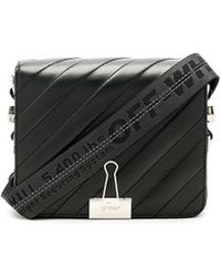 Off-White c/o Virgil Abloh - Diagonal Padded Flap Bag - Lyst