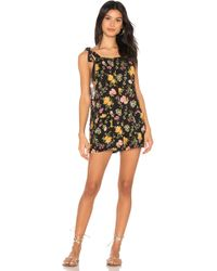 f57c049184c Forever 21 Sunny Days Cutout Romper in Blue - Lyst