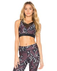Maaji - Night Bloom Reversible Mesh Sports Bra - Lyst