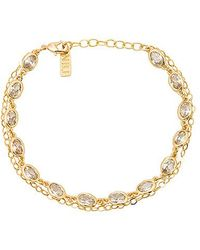 Natalie B. Jewelry - Union Square Bracelet In Metallic Gold. - Lyst