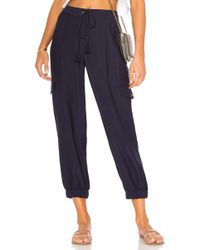 1.STATE - Flat Front Cargo Pant - Lyst