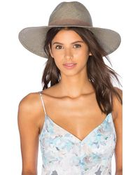 Janessa Leone - Angelica Wide Brimmed Panama Hat - Lyst
