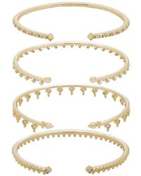Kendra Scott - Delphine Pinch Bracelet Set Of 4 - Lyst