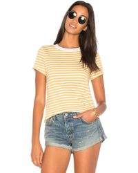 Stateside | Mustard Stripe Top | Lyst
