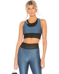 Koral - Utopia Sports Bra In Blue - Lyst
