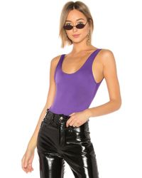 Ow Intimates - Hanna Bodysuit In Purple - Lyst