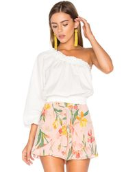 Free People - Anabelle Asymmetrical Top - Lyst