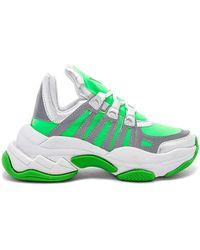 Jeffrey Campbell - Wifi Sneaker In Green - Lyst