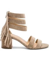 Sigerson Morrison - Ran Sandal In Taupe - Lyst
