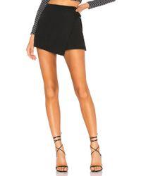 Line & Dot - Zoey Skort In Black - Lyst